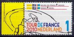Nederland - Tour De France 2010 - Etappe 12/13 - 16/17 Juli 2010 - MNH - NVPH 2720 - Periode 1980-... (Beatrix)