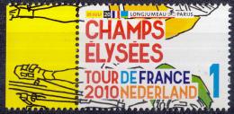 Nederland - Tour De France 2010 - Etappe 20 -  25 Juli 2010  Champs Elysées - MNH - NVPH 2728 - Wielrennen