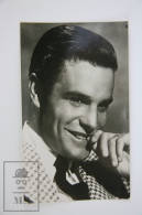 1950's Vintage Real Photo Postcard Cinema Movie Actor: Louis Jourdan - Schauspieler