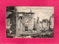 51 Marne, Reims, Bombardements Guerre 1914-17, Angle Des Rues De Mâcon Et Des Trois-Raisinets, (G. Dubois), Militaria - Guerra 1914-18