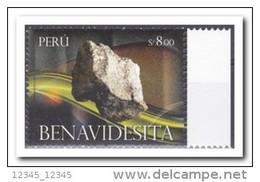 Peru 2013 Postfris MNH, BENAVIDESITA / MINERALS - Peru