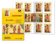 GERMANY BUND, 2015, Markenheftchen / Booklet MH 99, Creation Of Animals, Painting Of Meister Bertram - Carnets