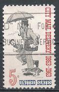 United States 1963. Scott #1238 (U) Letter Carrier 1863 - Etats-Unis