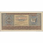 TWN - CROATIA 13a - 5000 5.000 Kuna 1.9.1943 Prefix C AU/UNC - Croatie