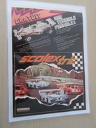 DIV415 : Clipping SCALEXTRIC CIRCUIT 24 ELECTRIQUE -  Pour  Collectionneurs ... PUBLICITE  Page De Revue Des Années 70 P - Road Racing Sets