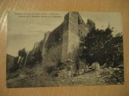 SUBIACO Sacro Speco Monastero S. Benedetto Monastery Post Card LAZIO Rome Italy Italia - Italia