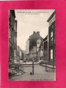 51 Marne, Reims, Bombardements Guerre 1914-17, Rue St-Symphorien, (Dubois), Militaria - Guerra 1914-18