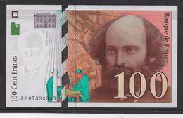 France 100 Francs Cézanne - Neuf - 1997 - Fayette 74-1 - 1992-2000 Dernière Gamme