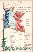 Mon étendard 3eme Régiment Des Hussards Campagne 1914 1915 Hussards D'Esterhazy - War 1914-18