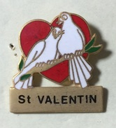 COEUR SAINT VALENTIN - Badges