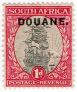 (I.B) South Africa Revenue : Customs Duty 1d (1930) - South Africa (...-1961)