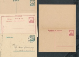 D.-Kolonien Lot 6 Ganzsachen    ( T9065 ) Siehe Scan ! - Deutschland