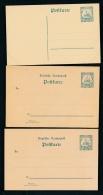 D.-Kolonien Lot 6 Ganzsachen    ( T9067 ) Siehe Scan ! - Deutschland