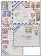 Argentinië, 4 Envelopes - Postwaardestukken