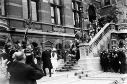 REAL Photo / Belgique / Roi Albert I / Koning Albert I / 1926 / Reine Elisabeth / Koningin Elisabeth / Temse / Tamise - Beroemde Personen