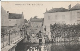 CPA : ETREPILLY  Le Pont Vérard - France