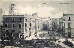 Espagne - Cadiz - Plaza De Topete - Cádiz