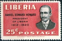 LIBERIA, COMMEMORATIVO, D. E. HOWARD, 1949,  NUOVO (MLH*),  YT 303, Scott 325 - Liberia