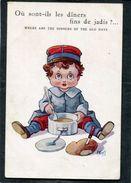CPA - Illustration Wuyts - Où Sont-ils Les Dîners Fins De Jadis ?... - Guerre 1914-18