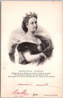 THEMES - PERSONNALITES - L'impératrice Eugénie. - Familles Royales