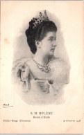 THEMES - PERSONNALITES - S.M Hélène, Reine D'Italie. - Familles Royales