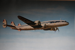 The L.1049 Lockheed Super Constelation In Flight KLM - 1946-....: Ere Moderne