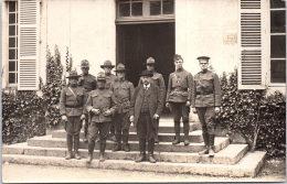 MILITARIA - 1914-1918 - CARTE PHOTO Militaire US Et Un Civile (non Localisée) - Guerre 1914-18