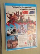 DIV415 : MATTEL BIG JIM S'ENVOIE EN L'AIR AVEC LES VILLAGE PEOPLE !!  -  Pour  Collectionneurs ... PUBLICITE  Page De Re - Autres