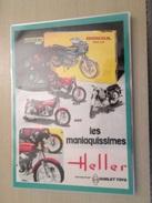 DIV415 : MAQUETTES PLASTIQUE HELLER GAMME DE MOTOS 1/8e   -  Pour  Collectionneurs ... PUBLICITE  Page De Revue Des Anné - Motorcycles