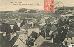 Suisse - Neuchâtel - Chaux De Fonds - Vue De La Tout De L'église Nationale - Le Chalet - état - NE Neuchâtel