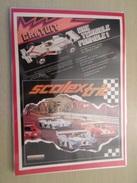 DIV415 : Clipping SCALEXTRIC CIRCUIT 24 ELECTRIQUE -  Pour  Collectionneurs ... PUBLICITE  Page De Revue Des Années 70 P - Circuits Automobiles