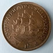 1 Penny -1944 - South Africa - Suid Afrika - Georges VI - - Afrique Du Sud