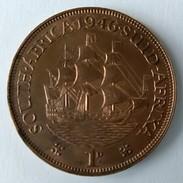 1 Penny -1946 - South Africa - Suid Afrika - Georges VI - - Afrique Du Sud