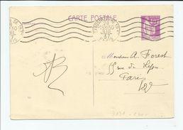 FRANCE -  ENTIER POSTAUX N°YT 281 OBLITERATION EXPOSITION DE 1937 28 JUILLET 1937 PARIS - Entiers Postaux