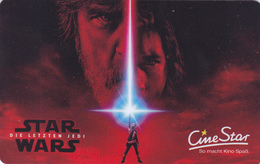 Gift Card - - - Germany / Allemagne - - - Star Wars - Gift Cards