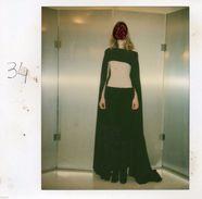 POL543 Polaroid Photo Vintage Original Mode Fashion Mannequin Griffonné - Foto