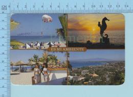 Puerto ValertaMexico  - Multi-view, Es Mi Ambiente - Used In 1998 - Mexique