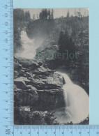 Wasserfall Austria - Unterer Krimmler - Cover Krimml 1910, Duplex Special Postmark - Krimml