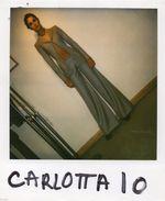 POL547 Polaroid Photo Vintage Original Mode Fashion Mannequin Model Femme Woman - Sonstige