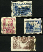 1553- España Nº 809, 829, 831/2 - 1931-50 Used