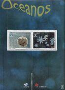 PORTUGAL, 1997, EXPO'98, OCEANS, PLÂNCTON, CE#B.188, SS, MNH - Blocks & Kleinbögen