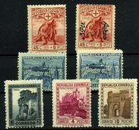 España Nº 767/72. Año 1938 - 1931-50 Neufs