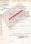 72- SAINT CALAIS- RARE LETTRE SIGNEE L. COHIN-GRAINS GRAINES HORTICULTURE-FLORE-1936 A M. LACROIX LAVAL - Agriculture