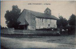 1165 FITIGNIEU - L'Eglise (animée) - France