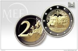 """Pièce  Commémorative 2 Euros  Italie  2016 UNC  """" Plaute  """" - Italie"""