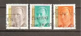 España/Spain-(usado) - Edifil  3260-62 - Yvert  2854-56 (o) - 1931-Hoy: 2ª República - ... Juan Carlos I
