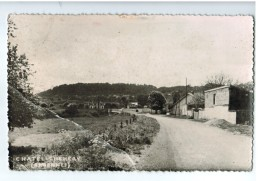 19625   CPA  CHATEL - CHEHERY  :    Carte Photo  1960  , ( PLI IMPORTANT EN BAS GAUCHE  ) - Other Municipalities