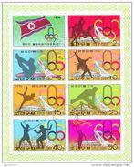 DPR Korea 1976 1474a XXI Olimpiadi Di Montreal Sheet Perf. CTO - Estate 1976: Montreal