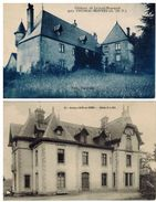 2 Cartes : Château De La Côte Et Château De Lavaud Bousquet - Frankrijk