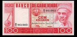 # # # Banknote Kap Verden (Cape Verde) 100 Escudos 1977 UNC # # # - Kaapverdische Eilanden